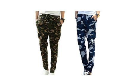 Men's Pants Camouflage Jogging Harem Sweatpants Camo Casual Pants 18f43eb7-ec83-4380-886d-097a0d40ad0e