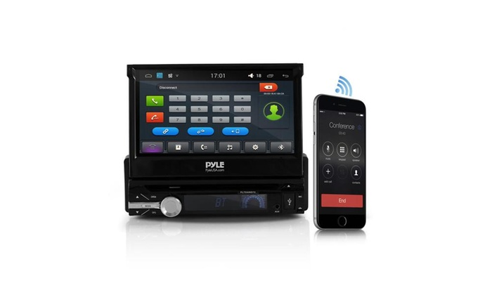 Single Din Android Stereo Receiver With Gps Cd Dvd