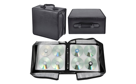 400 Disc CD DVD Bluray Storage Holder Solution Binder Sleeves Case NEW afe9420f-60a7-43c3-928e-43da67e1c760