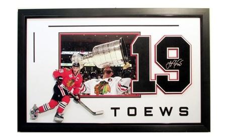 Jonathan Toews Chicago Blackhawks Stanley Cup Champion 3D Frame 757008fa-ec0c-4e1e-80ae-f6fea3a82c38