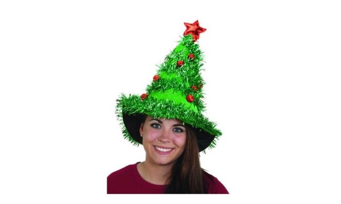 Jacobson Hat Company Women s Light-Up Christmas Tree Hat  085cf1332f