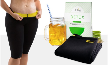 High Waist Thermal Activewear Pants with Detox Cleanse Tea 13b048e2-f6eb-403c-b2fc-48cdd0509c08