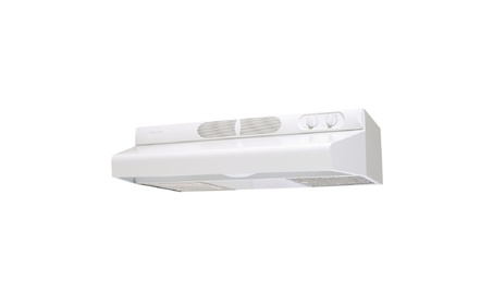 Broan 412401 24 Inch Non-Ducted Range Hood - White photo
