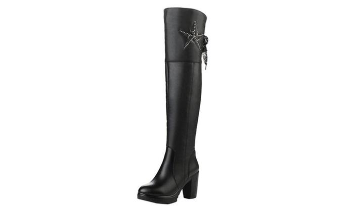 Women's Round Toe Marten Boots
