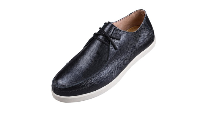 Men's Leather Casual Slip On Loafers