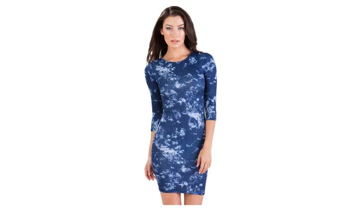 Women's Splendid Cloud Print Tie Dye Dress