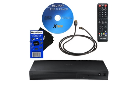 Samsung BD-J5100 Streaming Curved Disk Blu-ray Player + More NEW dd4480be-1695-4619-bd3b-17533eaa1eee
