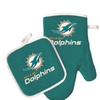 Miami Dolphins Oven Mitt and Pot Holder