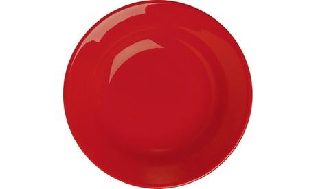 Set of 4 Soup Plates Fun Factory Red 06581b92-9eca-4afd-a469-0c320c73c186