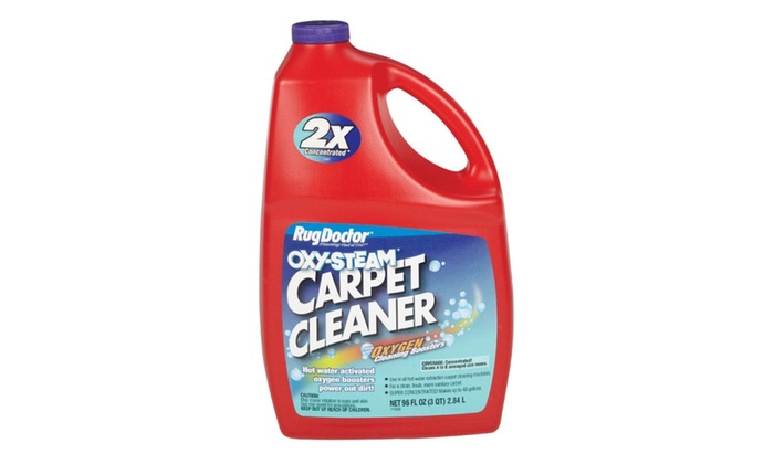 Rug Doctor 074999040309 Oxy Steam Carpet Cleaner, 96 Oz