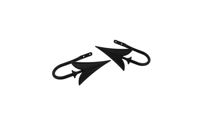 Rod Desyne Arrow Decorative Holdback Pair