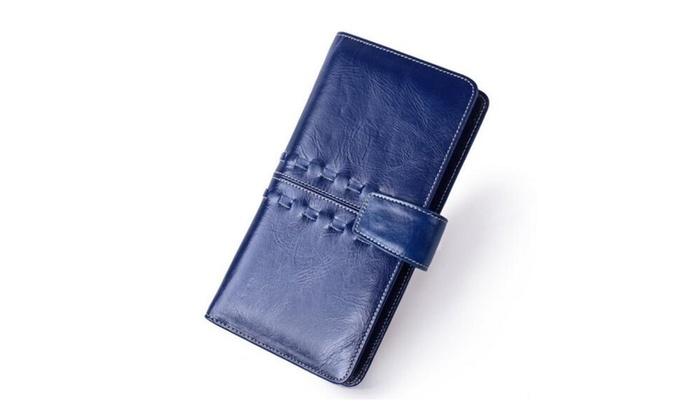 Women's Genuine Leather Bifold Wallet