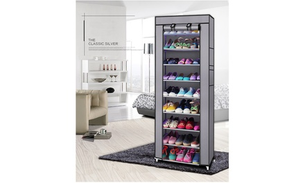 10 Tiers Shoe Storage Shoes Rack