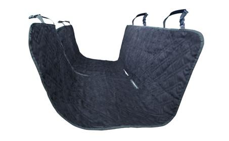 Black Pets Hammock Seat Cover for Cars, Trucks, Suv's Rear Seat 34c4224d-c85a-4ddf-b445-cf1fc86b5410