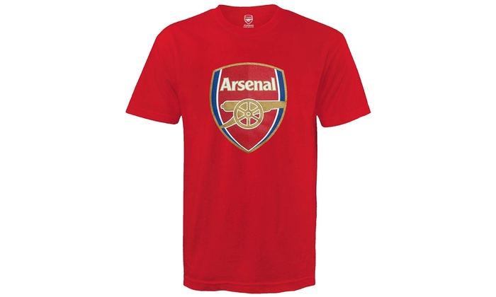 78a442eeb Arsenal Football Club Official Soccer Gift Kids Crest T-Shirt