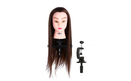 "24"" Salon Hairdressing Mannequin Training Head + Clamp Holder a42ea025-81f1-453e-8975-b66b32048bbc"