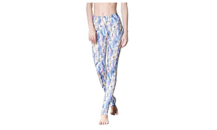 Women's Active Long Pant Lush Bloom Print