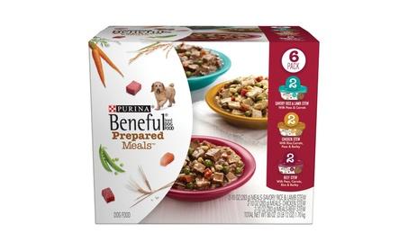 Prepared Meals Stew Variety Pack Wet Dog Food, (6) 10 oz. 43c418a9-15dc-40da-934b-699845611277