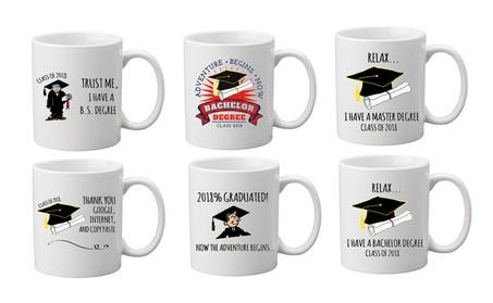 Funny Graduation Gift Class of 2018 Coffee Tea Mug Cup With Gift Box d610595a-7048-421f-9b0b-767ed0fe3854