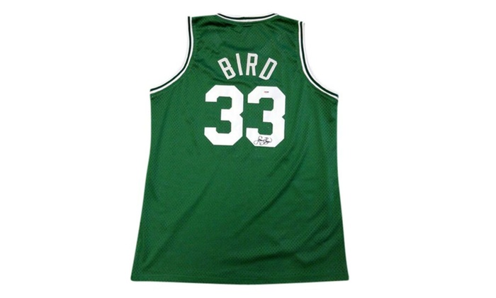 huge selection of a58e2 0eb7e Autographed Larry Bird Boston Celtics Jersey