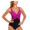 Women's Push Up Vintage One Piece Plus Size Swimsuit