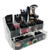 OnDisplay Deluxe Acrylic Cosmetic/Jewelry Organization Station w/Geode