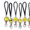 6 Assorted Emoji Fun Key Chains