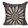 "Loom and Mill 22""X22"" Dark Blue American Dream Decorative Pillow"