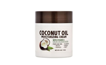 New Moisturizing Cream With Vitamin E & Coconut Oil for Skin Care