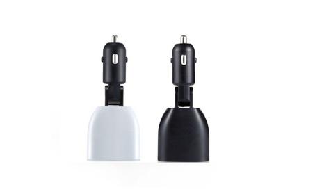 2017 LED Display Dual-USB Car Charger Adapter 70d93272-2a58-4f24-bdd1-1435cbf94b25