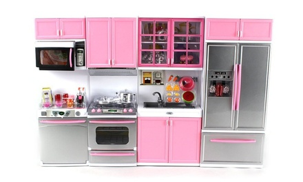44 off on deluxe modern kitchen 39 batter groupon goods for Kitchen set groupon