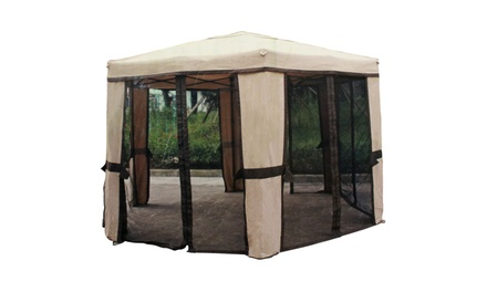 Hexagon Folding Gazebo