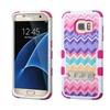 Insten Camo Hard Hybrid Case W/stand For Samsung Galaxy S7 Edge Pink