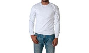 Gildan Ultra Cotton Long Sleeve Crewneck T-Shirt 2400-1