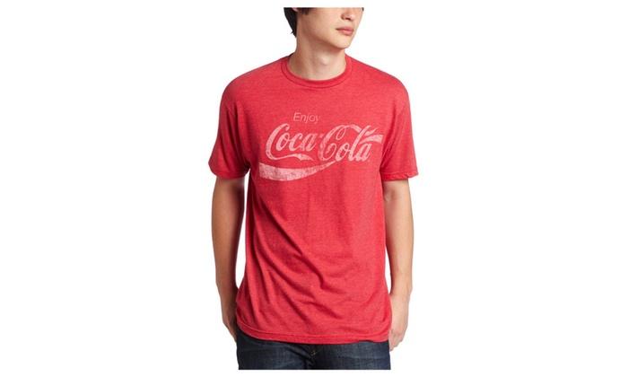 16847dc45f35 Jonate Mad Engine Coca-Cola Coke Classic Adult Tee | Groupon