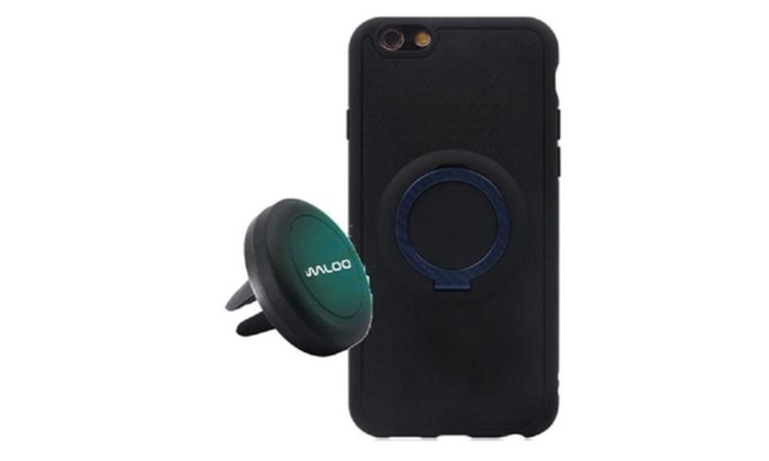 reputable site d17a8 a0f41 Up To 57% Off on Waloo Magnetic Case & Car Mount | Groupon Goods