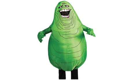 Ghostbusters - Inflatable Slimer Adult Costume 319c5942-f367-4ccd-a3e7-d3e1342a3a67