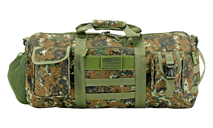 2b56faebefda Tactical Duffle Bag - Green Digital Camo