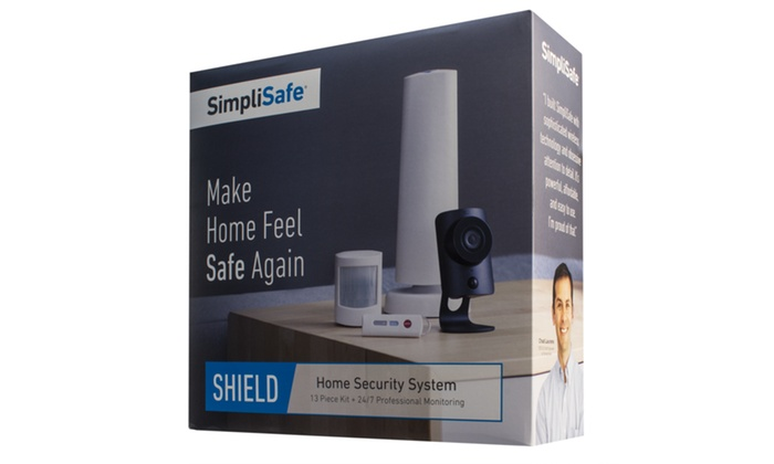 Simplisafe Shield Wireless Home Security System Groupon