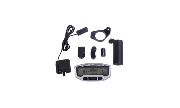 Big Screen Waterproof Bike Cycling Computer Odometer Speedometer