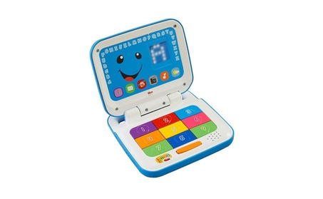 Fisher Price Laugh & Learn® Smart Stages™ Laptop - Blue CFC72 480a8e7f-cac0-4d38-8893-c2756bba691f