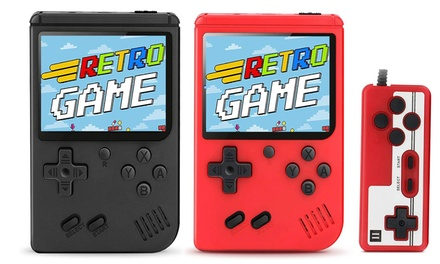 Handheld Game Consoles, Retro Mini Game Player with 400 Classic FC Games
