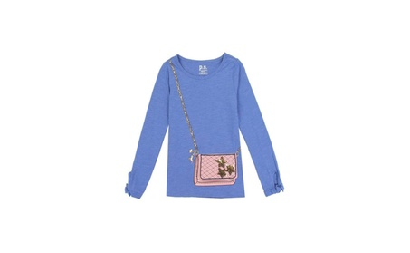 Girls Long Sleeve Fashion Aéropostale Top With Purse Pock (Goods Baby & Kids Girls' Clothing) photo