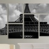 Gallery-Wrapped 6 Panel Canvas Art Set