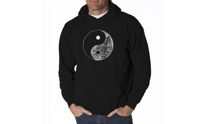 Men's Hooded Sweatshirt - YIN YANG