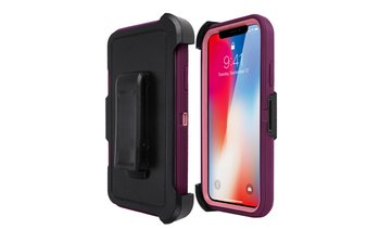 Hybrid Rugged Case 4-in-1 for iPhone X,7/8,7 Plus/8 Plus, 6/6s Plus,5s