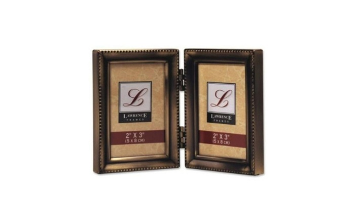 Lawrence Frames 11423d Lawrence Frames Hinged Double 2x3 Picture