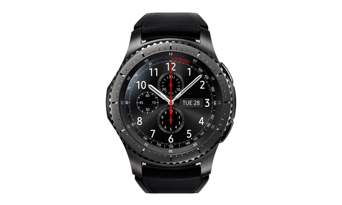 Samsung Galaxy Gear S3 Frontier Smartwatch - Black (Refurbished)