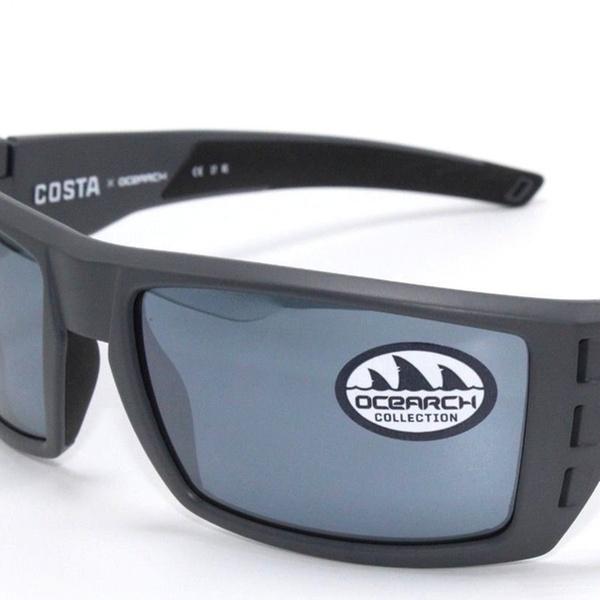 3e708101bf Costa Del Mar Rafael Ocearch Sunglasses RFL 98 Grey   Grey Silver Mirror  580P