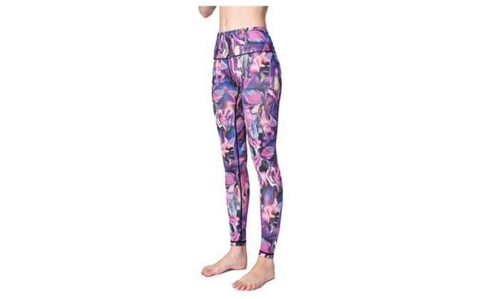 Women Graphic Printed Tights Fashion Yoga Pants Jeggings